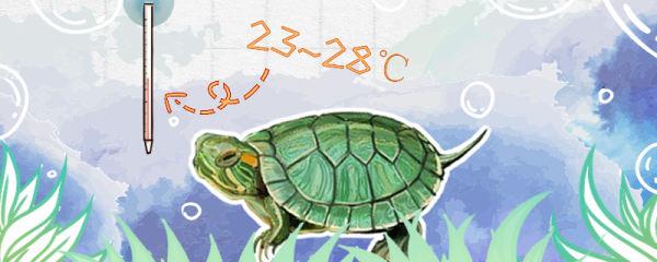 巴西龟水温多少度最合适,需要加热棒吗